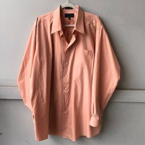Peach Alexander Julian Button Down Shirt